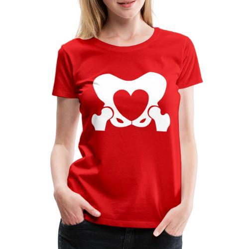 Love Your Hips Logo - Women's Premium T-Shirt