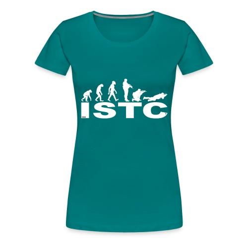 ISTC BLANC - T-shirt Premium Femme