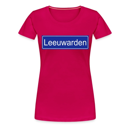 leeuwarden - Vrouwen Premium T-shirt