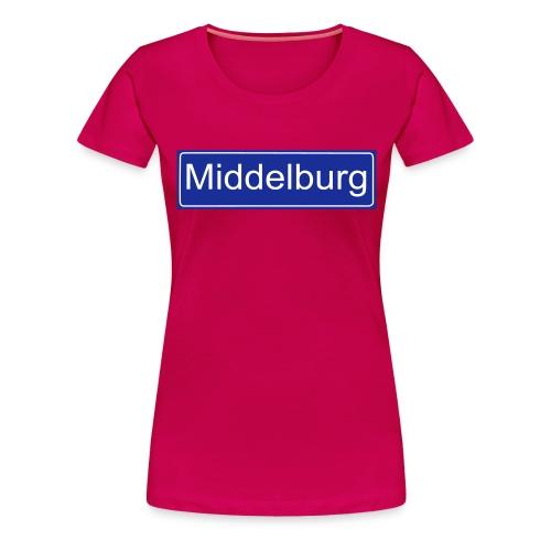 middelburg - Vrouwen Premium T-shirt