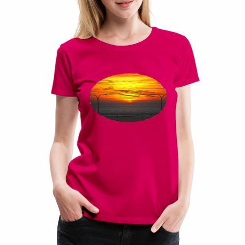 Sonne u Meer - Frauen Premium T-Shirt