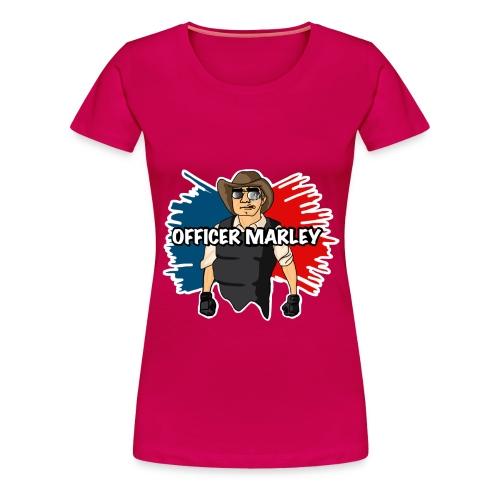 Officer Marley t shirt 1 png - Women's Premium T-Shirt