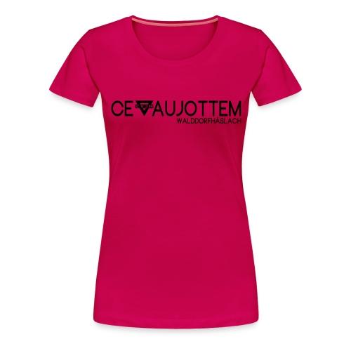 motiv1 black png - Frauen Premium T-Shirt