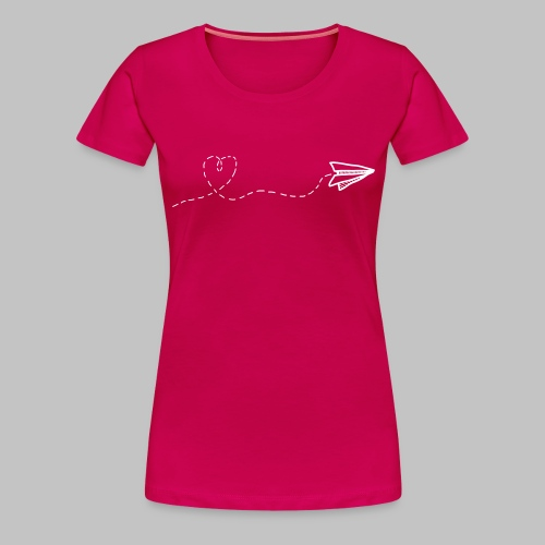 fly heart - Women's Premium T-Shirt