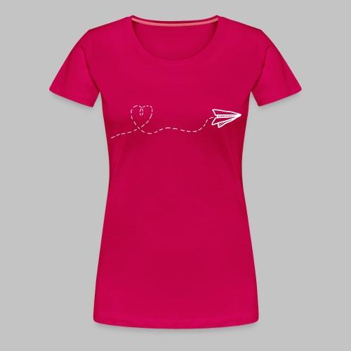 fly heart - Women's Premium T-Shirt