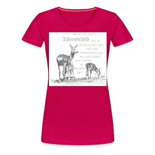 EHRENSCHILDSAFE1Sh - Frauen Premium T-Shirt
