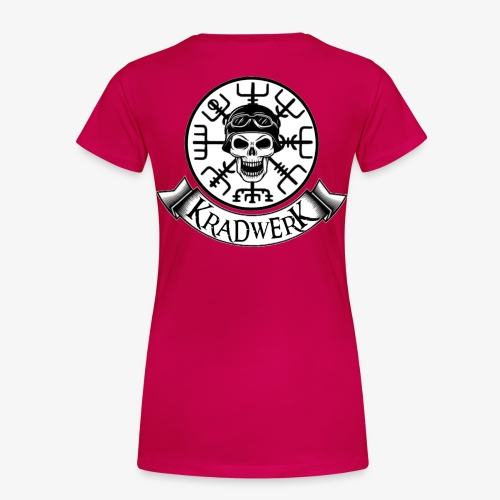 Logo und Banner/ groß - Frauen Premium T-Shirt