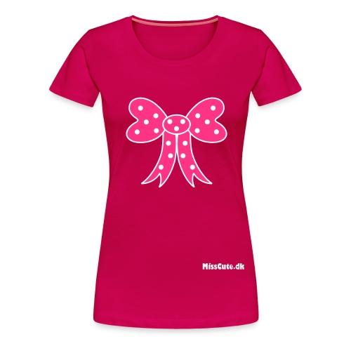 Bow - Dame premium T-shirt