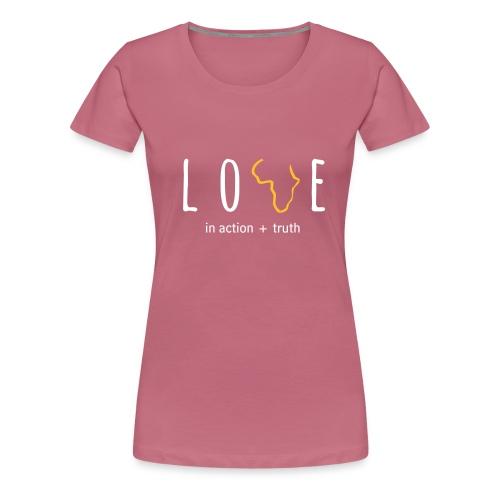 LOVE in Action - Women's Premium T-Shirt