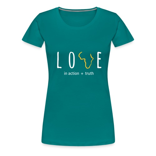 LOVE in Action - Women's Premium T-Shirt