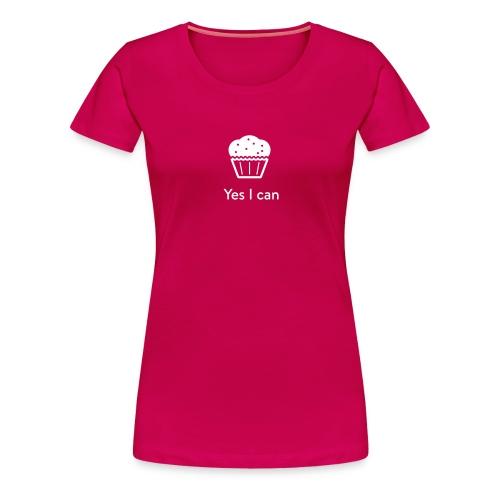 Monster-Cupcake T-Shirt by mySugr - Women's Premium T-Shirt