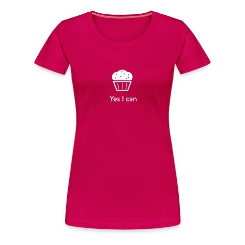 Monster-Cupcake T-Shirt by mySugr - Frauen Premium T-Shirt