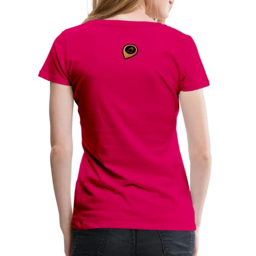 Tulikartta - Naisten premium t-paita