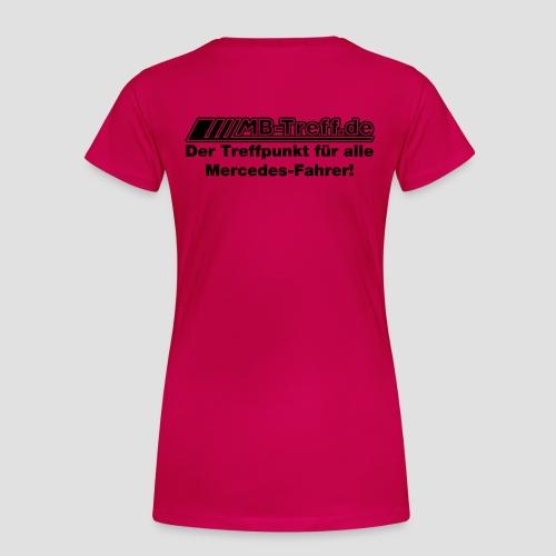 Treffpunkt Flock - Frauen Premium T-Shirt