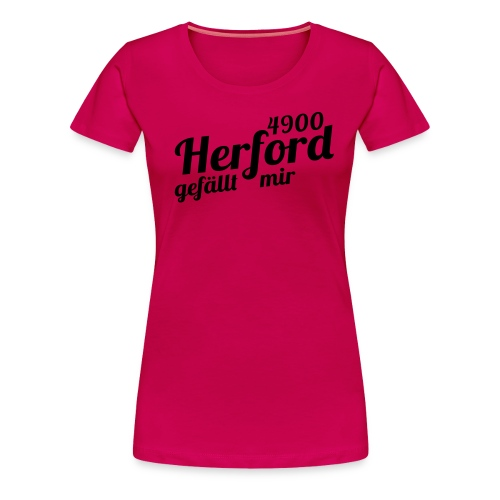finalprint4900 - Frauen Premium T-Shirt