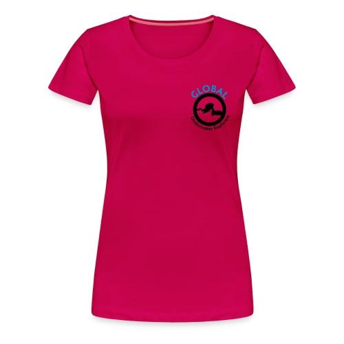 constance blue - Frauen Premium T-Shirt