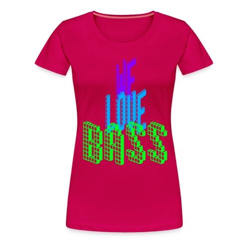 welovebass20 - Frauen Premium T-Shirt