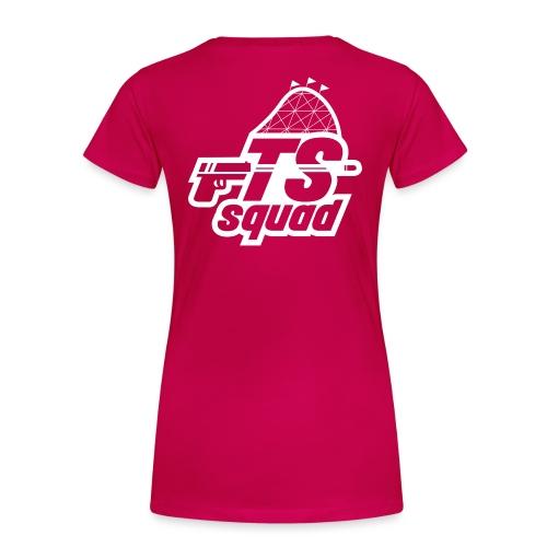 mathijs logo TS Wit png - Vrouwen Premium T-shirt