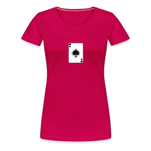 ashe of spades - Vrouwen Premium T-shirt