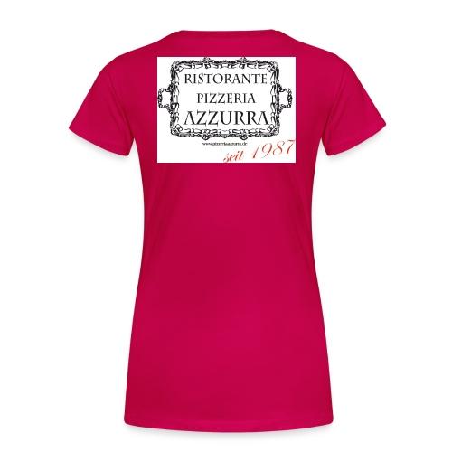 Azzurra_Logo_2015 - Frauen Premium T-Shirt