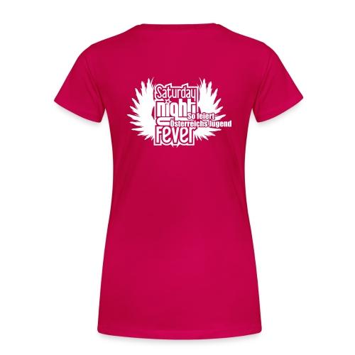 25cm breite snf logo - Frauen Premium T-Shirt