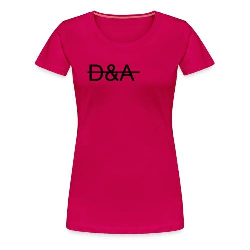 D A logo png - Dame premium T-shirt