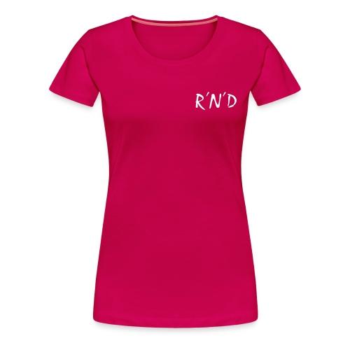 rnd schwarz - Frauen Premium T-Shirt