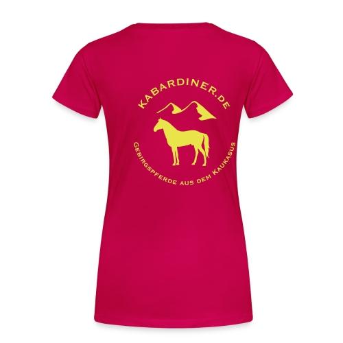 logo vektorisiert kopie2 - Frauen Premium T-Shirt