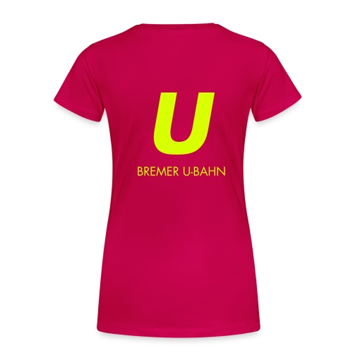 hbu logo 027 full spreadshirt motiv 2 - Frauen Premium T-Shirt