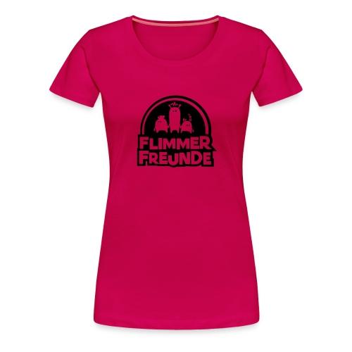 motiv 7 flimmerfreunde - Frauen Premium T-Shirt