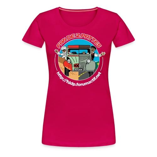 FDDP Rond - T-shirt Premium Femme
