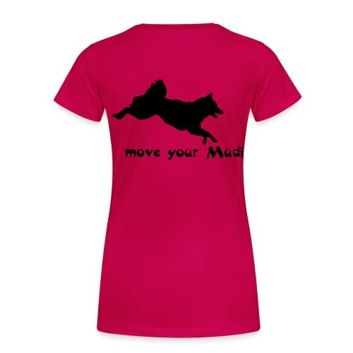 moyomu black - Women's Premium T-Shirt