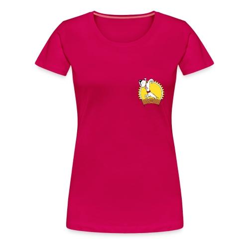GHSV Maskottchen transparent png - Frauen Premium T-Shirt