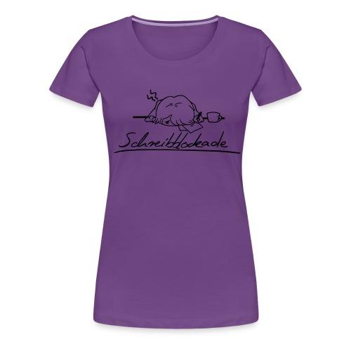 Schreibblockade - Frauen Premium T-Shirt