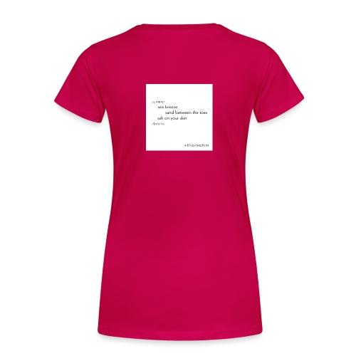 Summer Collection Sea Breeze - Frauen Premium T-Shirt
