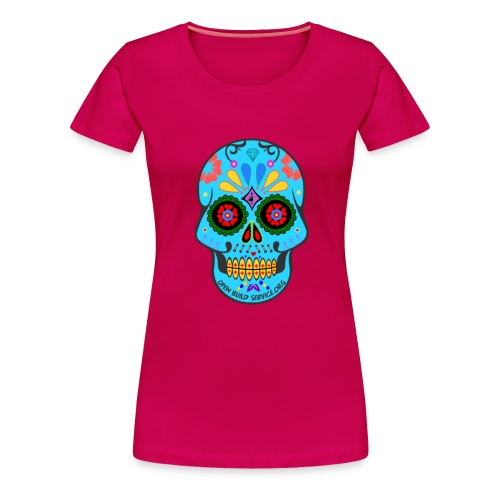 OBS-Skull-Sticker - Women's Premium T-Shirt