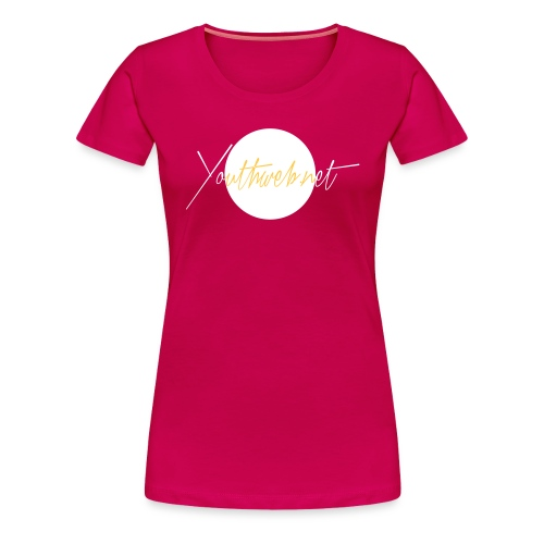 yw_Shirt-Emplem_whitewhit - Frauen Premium T-Shirt