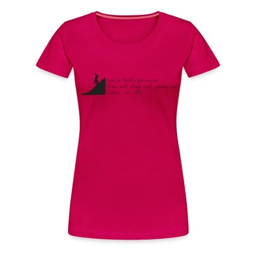 Unicycle Haiku - Women's Premium T-Shirt