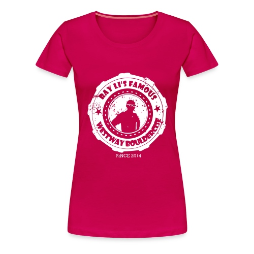 bouldercise3 - Women's Premium T-Shirt