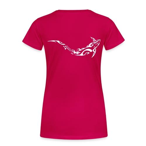 logo divein w - T-shirt Premium Femme