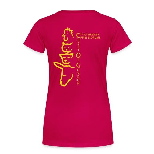 crestmusikanten 3 - Frauen Premium T-Shirt