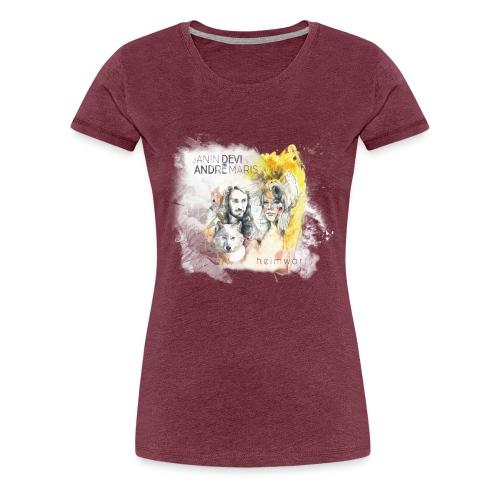 Heimwärts - Frauen Premium T-Shirt