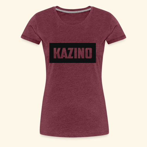 Kazino - Women's Premium T-Shirt