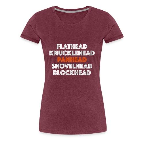 Panhead 2C - Vrouwen Premium T-shirt