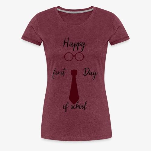 School - T-shirt Premium Femme