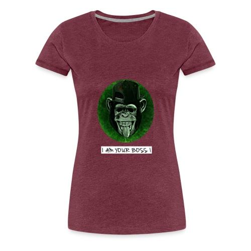 I AM YOUR BOSS ! - Maglietta Premium da donna