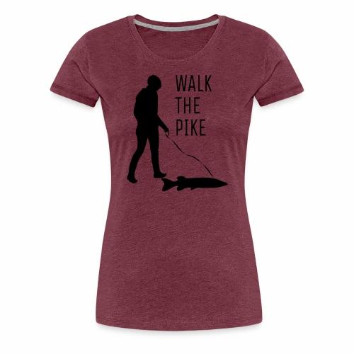 Walk The Pike - Frauen Premium T-Shirt