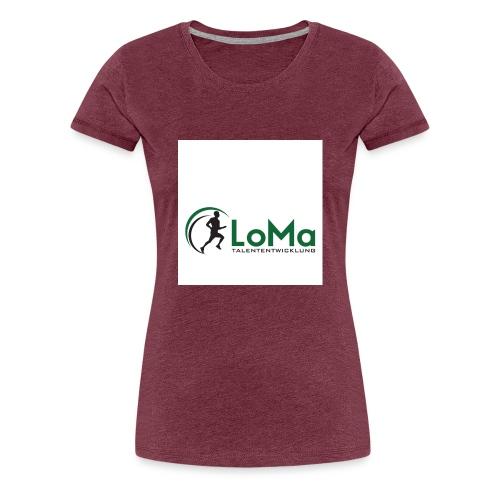 LoMa Talententwicklung - Frauen Premium T-Shirt