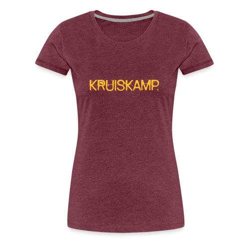 Kruiskamp Punk - Vrouwen Premium T-shirt