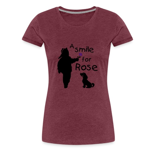 A Smile for Rose - Maglietta Premium da donna